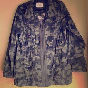 Camouflage Light weight Jacket